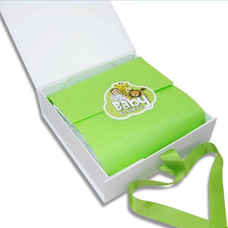 Premium plus unisex baby gift box open