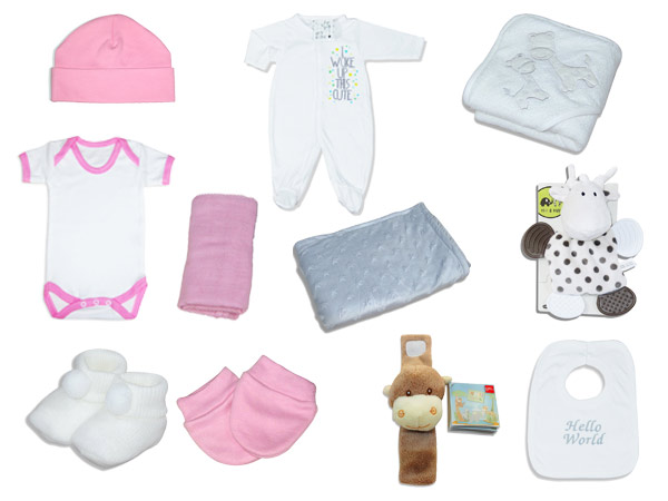 Premium plus Baby girl gift hamper