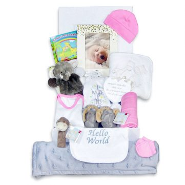 Luxury Baby girl gift hamper