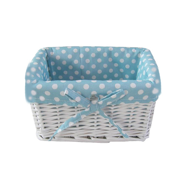 baby boy wicker gift basket